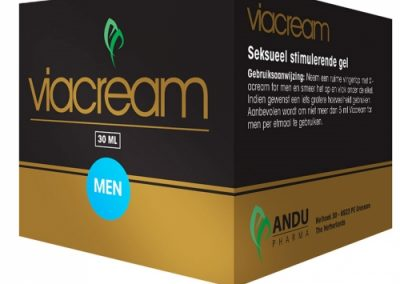 Viacream for men