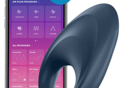 Satisfyer cockring mighty one-incl-bluetooth-and-app