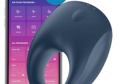 Satisfyer cockring-strong-one-incl-bluetooth-and-app